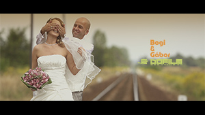 Bogi &#038; Gábor <br /> – Slow Motion Wedding Film, Dubicsány 2013