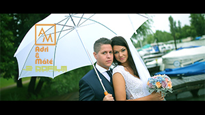 Adri &#038; Máté <br /> &#8211; Wedding film 2016