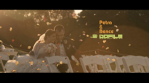 Petra &#038; Bence <br /> &#8211; Wedding film 2016